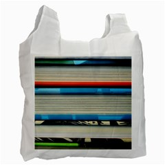 Background Book Books Children Recycle Bag (One Side)