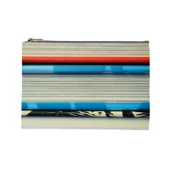 Background Book Books Children Cosmetic Bag (Large)