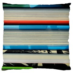 Background Book Books Children Large Cushion Case (One Side)