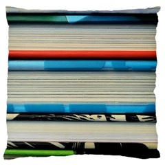 Background Book Books Children Standard Flano Cushion Case (Two Sides)