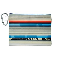 Background Book Books Children Canvas Cosmetic Bag (XL)