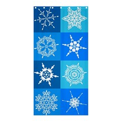 Background Blue Decoration Shower Curtain 36  x 72  (Stall)