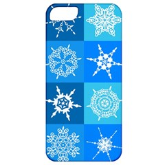 Background Blue Decoration Apple iPhone 5 Classic Hardshell Case