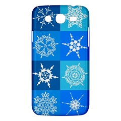 Background Blue Decoration Samsung Galaxy Mega 5.8 I9152 Hardshell Case