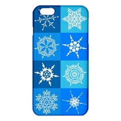 Background Blue Decoration iPhone 6 Plus/6S Plus TPU Case