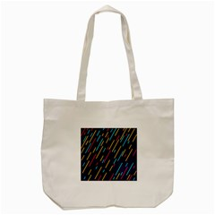 Background Lines Forms Tote Bag (Cream)