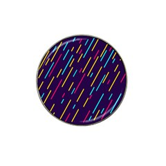 Background Lines Forms Hat Clip Ball Marker
