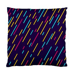 Background Lines Forms Standard Cushion Case (one Side)