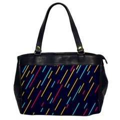 Background Lines Forms Office Handbags