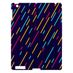 Background Lines Forms Apple iPad 3/4 Hardshell Case