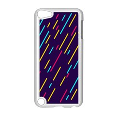 Background Lines Forms Apple iPod Touch 5 Case (White)