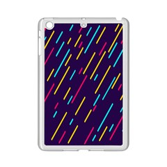 Background Lines Forms iPad Mini 2 Enamel Coated Cases