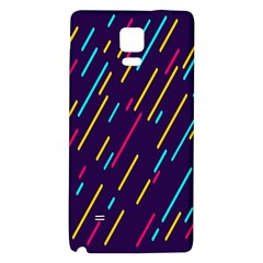 Background Lines Forms Galaxy Note 4 Back Case