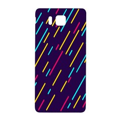 Background Lines Forms Samsung Galaxy Alpha Hardshell Back Case