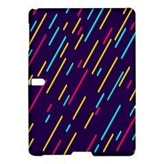 Background Lines Forms Samsung Galaxy Tab S (10.5 ) Hardshell Case