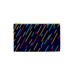 Background Lines Forms Cosmetic Bag (xs)