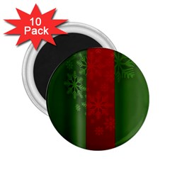 Background Christmas 2.25  Magnets (10 pack)