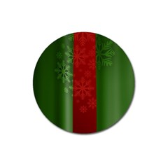 Background Christmas Magnet 3  (Round)