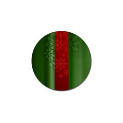 Background Christmas Golf Ball Marker