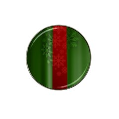 Background Christmas Hat Clip Ball Marker