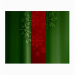 Background Christmas Small Glasses Cloth