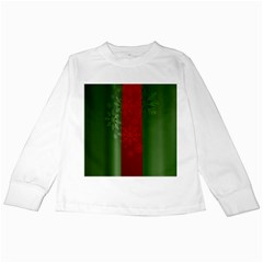 Background Christmas Kids Long Sleeve T-Shirts