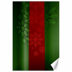 Background Christmas Canvas 24  x 36