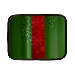 Background Christmas Netbook Case (Small)