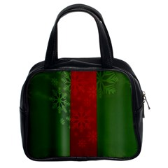 Background Christmas Classic Handbags (2 Sides)