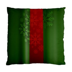 Background Christmas Standard Cushion Case (Two Sides)