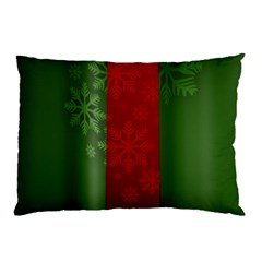 Background Christmas Pillow Case