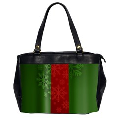 Background Christmas Office Handbags (2 Sides)