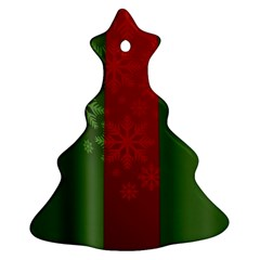 Background Christmas Ornament (Christmas Tree)