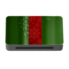 Background Christmas Memory Card Reader with CF