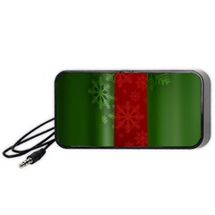 Background Christmas Portable Speaker (Black)