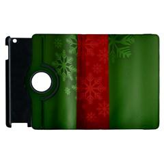 Background Christmas Apple iPad 2 Flip 360 Case
