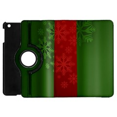 Background Christmas Apple iPad Mini Flip 360 Case