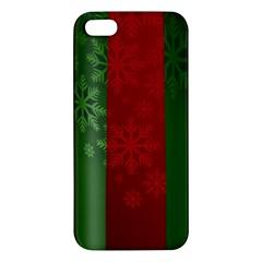 Background Christmas Apple Iphone 5 Premium Hardshell Case