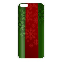 Background Christmas Apple Seamless iPhone 6 Plus/6S Plus Case (Transparent)