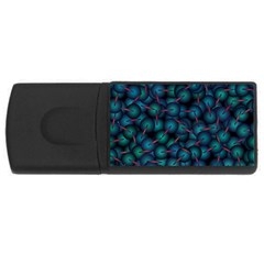 Background Abstract Textile Design USB Flash Drive Rectangular (4 GB)