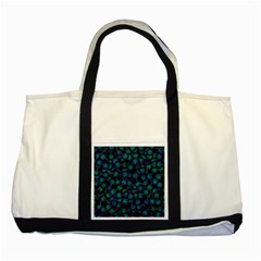 Background Abstract Textile Design Two Tone Tote Bag
