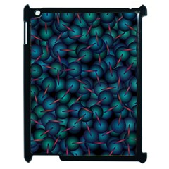Background Abstract Textile Design Apple iPad 2 Case (Black)