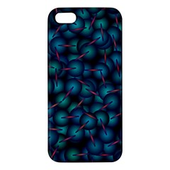 Background Abstract Textile Design iPhone 5S/ SE Premium Hardshell Case