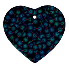 Background Abstract Textile Design Ornament (Heart)