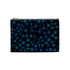 Background Abstract Textile Design Cosmetic Bag (Medium)