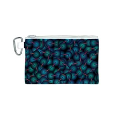 Background Abstract Textile Design Canvas Cosmetic Bag (S)