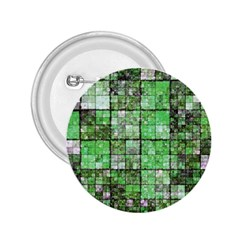 Background Of Green Squares 2.25  Buttons