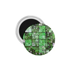 Background Of Green Squares 1.75  Magnets
