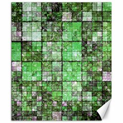 Background Of Green Squares Canvas 20  x 24