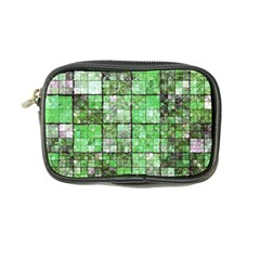 Background Of Green Squares Coin Purse